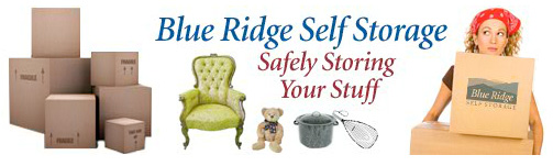 Blue Ridge Self Storage - Safely Storing Your Stuff